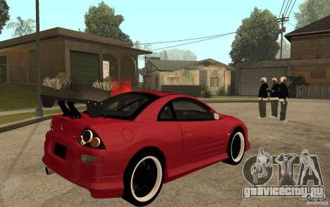 Mitsubishi Eclipse 2003 V1.0 для GTA San Andreas вид справа