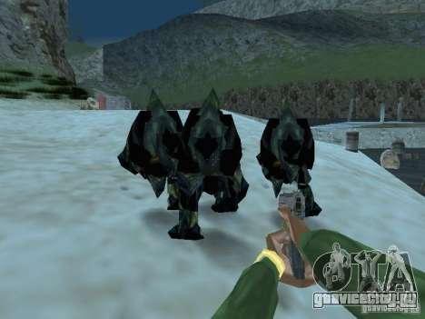 Подводные монстры для GTA San Andreas пятый скриншот