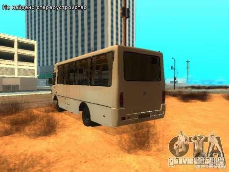 БАЗ А079.14 для GTA San Andreas вид слева