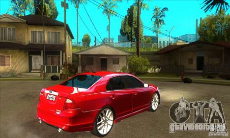 Ford Fusion Hybrid для GTA San Andreas вид справа