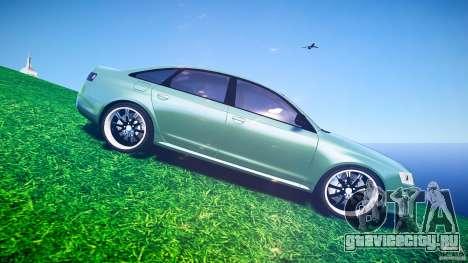 Audi RS6 2009 для GTA 4 вид сверху