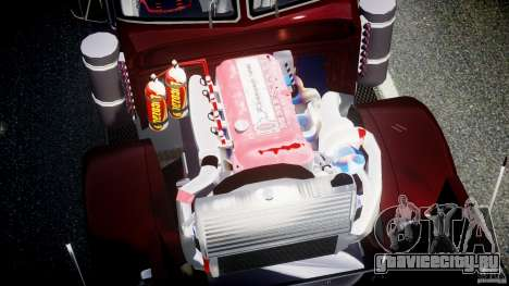 Peterbilt Sport Truck Custom для GTA 4 вид сверху