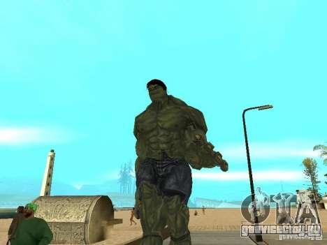 Hulk Skin для GTA San Andreas