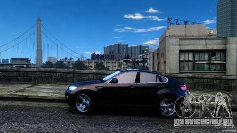 BMW X6 2013 для GTA 4 вид слева