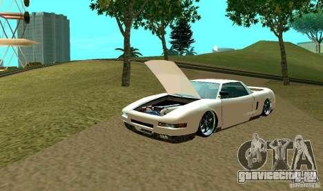 New Infernus для GTA San Andreas вид сверху