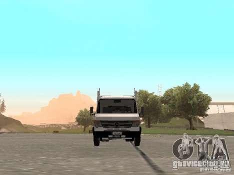 Mercedes-Benz Vario для GTA San Andreas вид сзади