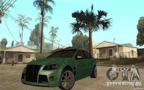 Holden Commodore 2010 для GTA San Andreas