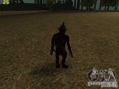 Chupacabra для GTA San Andreas пятый скриншот