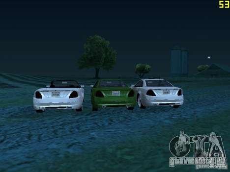 GTA IV Feltzer для GTA San Andreas вид сзади слева