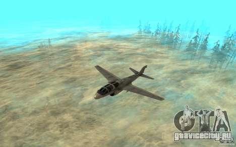 EA-6B Prowler для GTA San Andreas вид слева