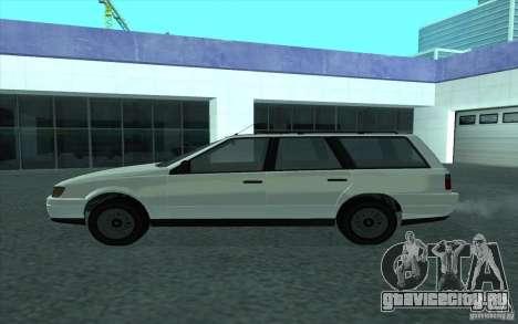 Ingot из GTA 4 для GTA San Andreas вид сзади слева