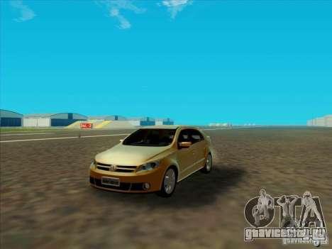 Volkswagen Voyage Comfortline 1.6 2009 для GTA San Andreas