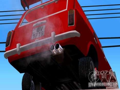 ВАЗ 2102 для GTA San Andreas вид сбоку