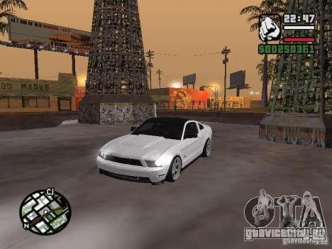 Ford Mustang GT B&W для GTA San Andreas