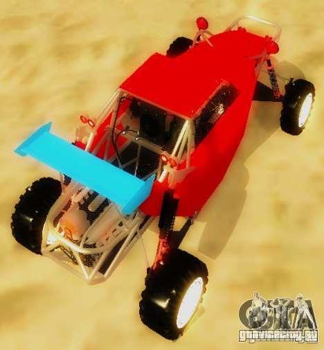 Buggy V8 4x4 для GTA San Andreas вид сзади слева