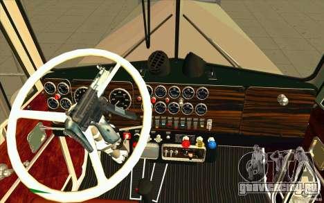 Kenworth W900 Heavy Hauler 1974 для GTA San Andreas вид справа