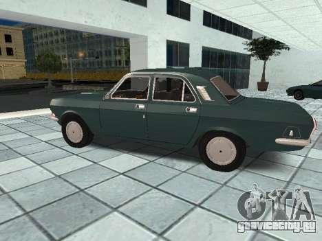 ГАЗ 24-10 v.2 для GTA San Andreas вид слева