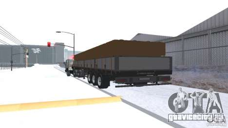 Schwarzmuller для GTA San Andreas вид справа