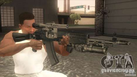 АК-47 v2 для GTA San Andreas третий скриншот