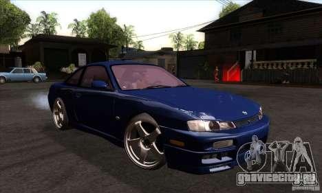 Nissan 200SX для GTA San Andreas вид сзади