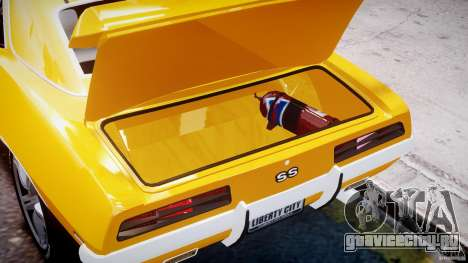 Chevrolet Camaro для GTA 4 вид сбоку