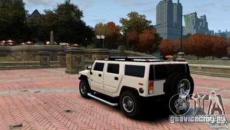 Hummer H2 для GTA 4 вид справа