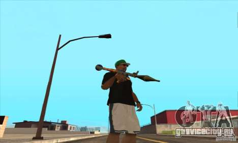WEAPON BY SWORD для GTA San Andreas восьмой скриншот
