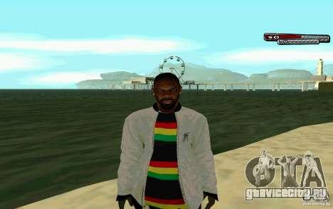 Ямайский  HD Skin для GTA San Andreas