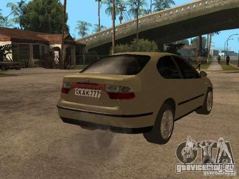 Seat Toledo 1.9 1999 для GTA San Andreas вид справа