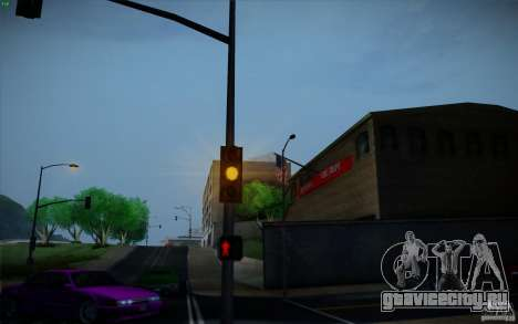Lensflare v1.2 Final for SAMP Fixed Version для GTA San Andreas четвёртый скриншот