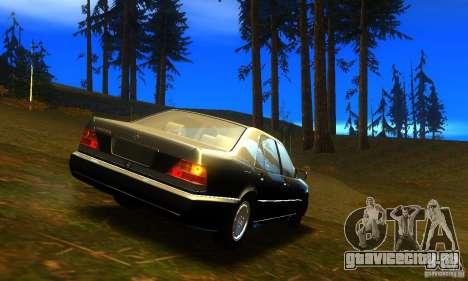 Mercedes-Benz 600SEL v2.0 для GTA San Andreas вид слева