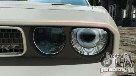 Dodge Challenger SRT8 392 2012 для GTA 4 двигатель