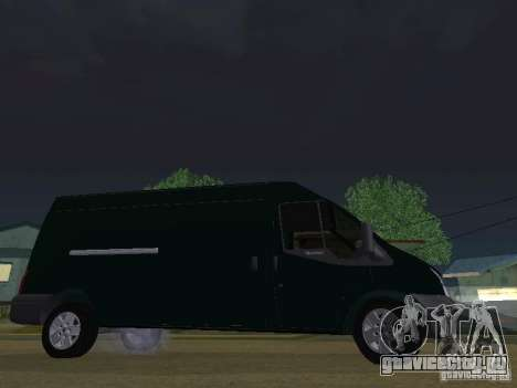 Ford Transit 350L для GTA San Andreas вид сзади