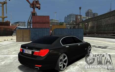 BMW 750 LI F01 v1.3 для GTA 4 вид справа