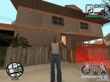 Новый дом Джонсонов для GTA San Andreas второй скриншот