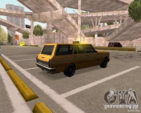 Perennial Cab для GTA San Andreas вид сзади слева