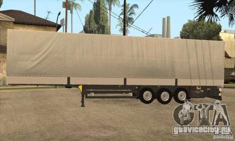 Trailer для GTA San Andreas вид сзади слева