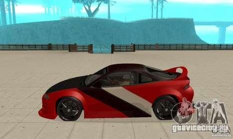 Mitsubishi Eclipse - Tuning для GTA San Andreas вид слева