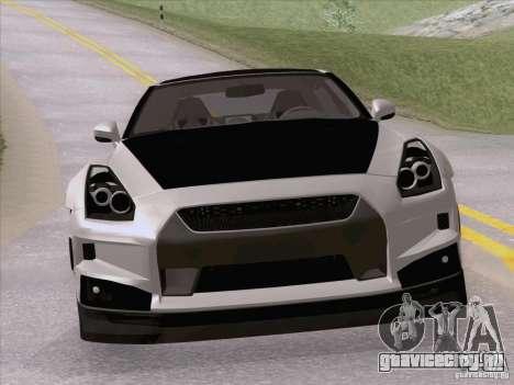 Nissan GTR Edited для GTA San Andreas вид справа