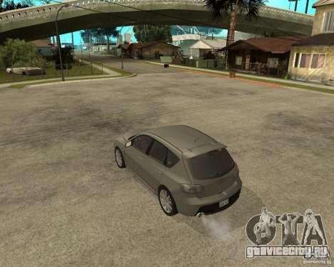 Mazda 3 Sport 2003 для GTA San Andreas вид слева