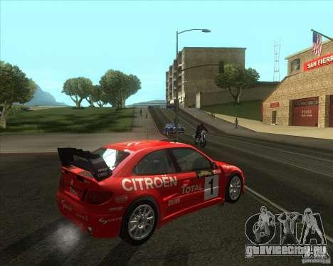 Citroen Xsara 4x4 T16 для GTA San Andreas вид справа