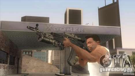 АК-47 v2 для GTA San Andreas четвёртый скриншот