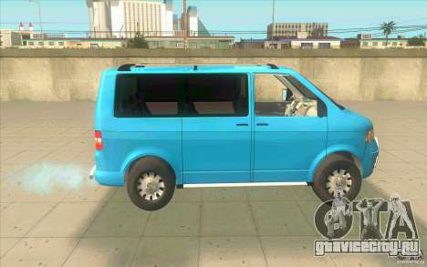 Volkswagen Caravelle для GTA San Andreas вид слева