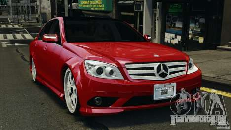 Mercedes-Benz C350 Avantgarde v2.0 для GTA 4
