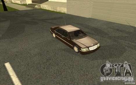 Mercedes-Benz S600 для GTA San Andreas вид сверху