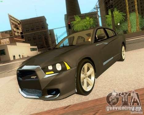Dodge Charger SRT8 2012 для GTA San Andreas колёса