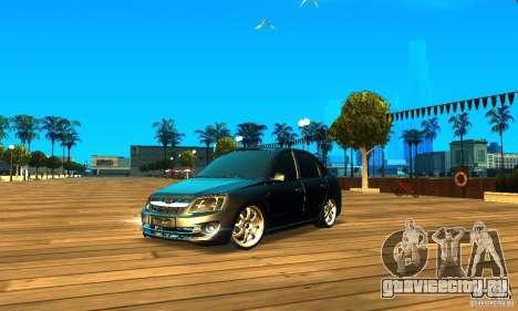 Lada Granta v2.0 для GTA San Andreas