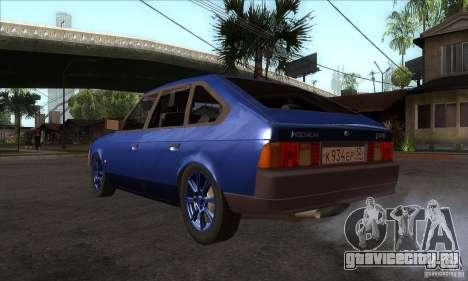 АЗЛК 2141 People Edition для GTA San Andreas вид сзади слева
