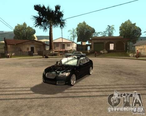 Jaguar XFR 2009 для GTA San Andreas