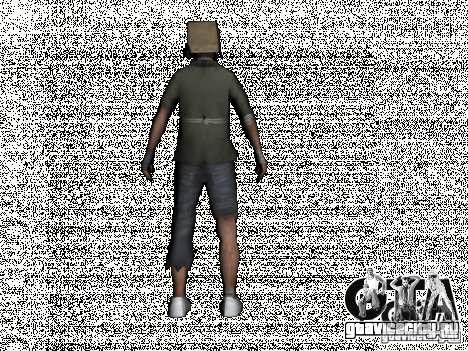 New Bomj для GTA San Andreas второй скриншот